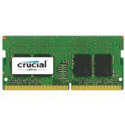 Memória Crucial 4GB, 2400MHz, Notebook, DDR4, CL17 - CT4G4SFS824A
