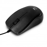 Mouse C3Tech, Preto, USB - MS-25BK