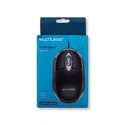 Mouse Classic Box Óptico USB MO179 Multilaser