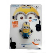 Pendrive Minions - Tim 8gb Pd096