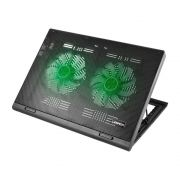 Suporte Para Note Cooler Led Green Multilaser Ac267