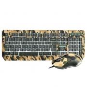 Teclado e Mouse Gamer Army KYLER Warrior TC249