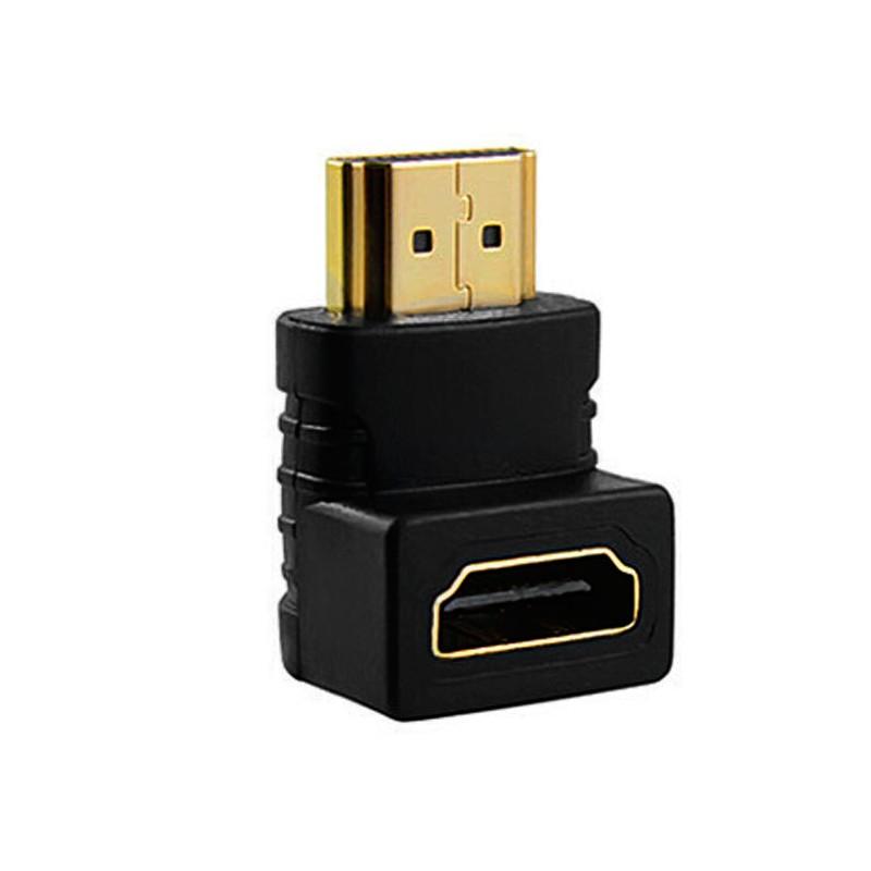 Adaptador HDMI-Fêmea x HDMI-Macho 90º XCell