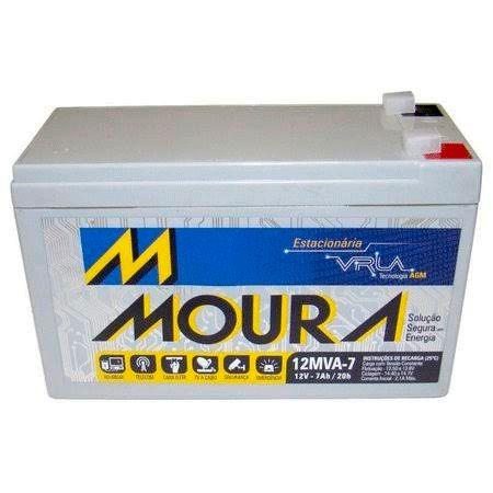 Bateria Nobreak 12mva-7 Moura