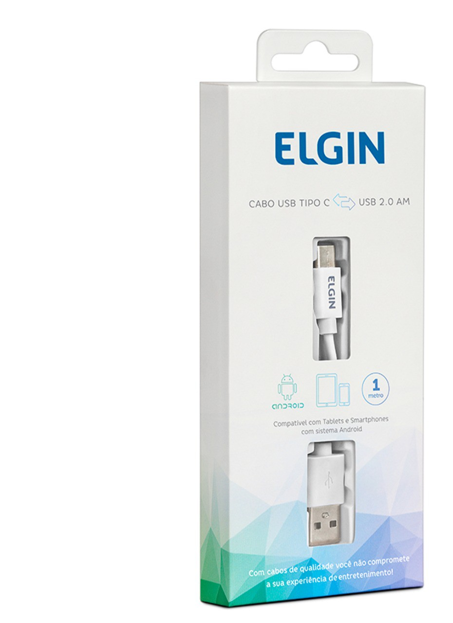 Cabo Usb Type-C 1.0m Elgin