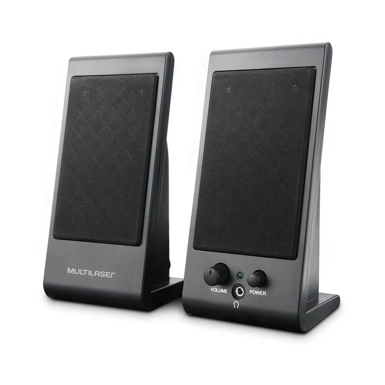 Caixa de Som 3 WRMS USB Flat Multilaser SP009
