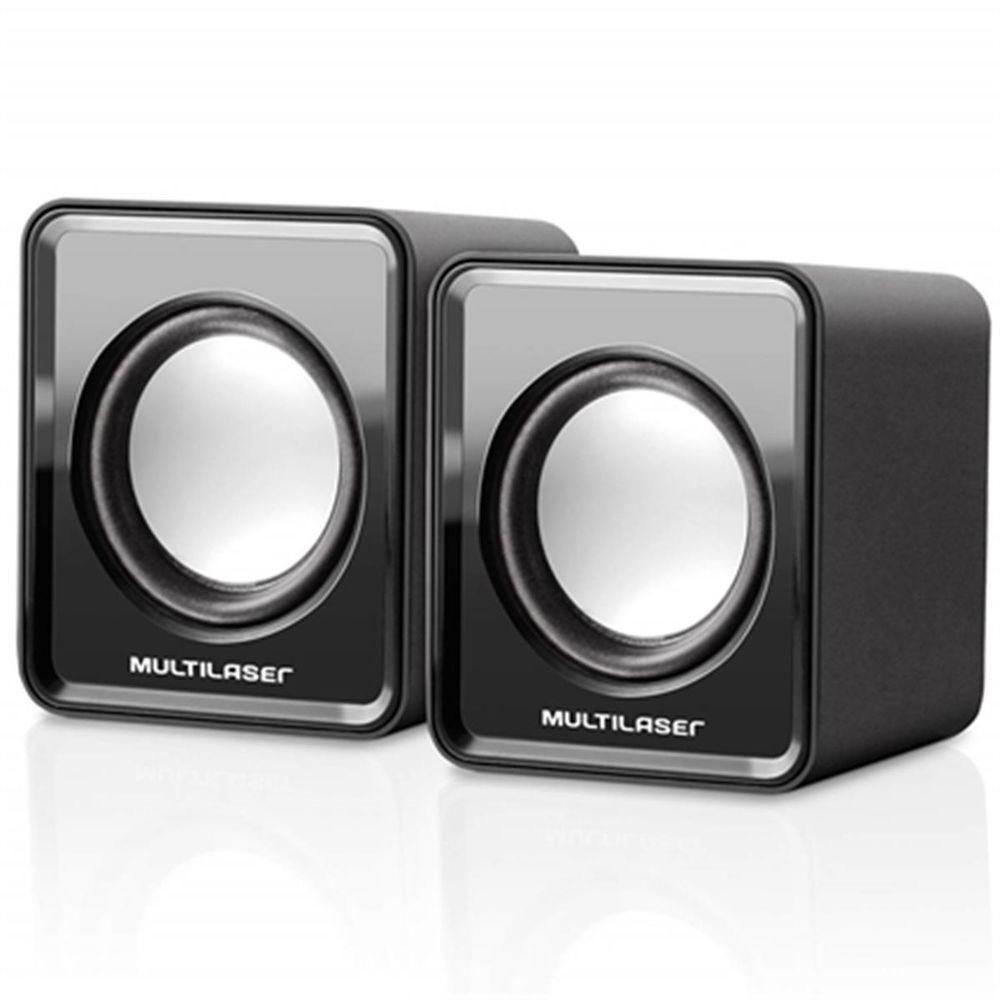 Caixa de Som 3W USB Mini SP144 Multilaser