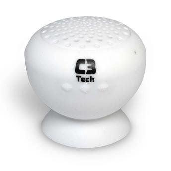 Caixa De Som Bluetooth Sp-12B Branco