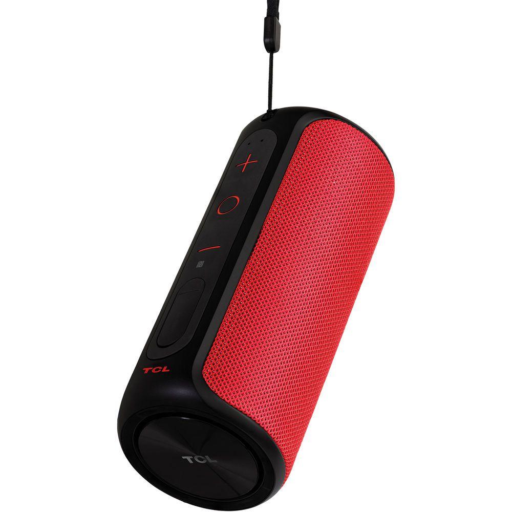 Caixa de Som Bluetooth TCL BS12A a Prova D'Água Vermelha 12W