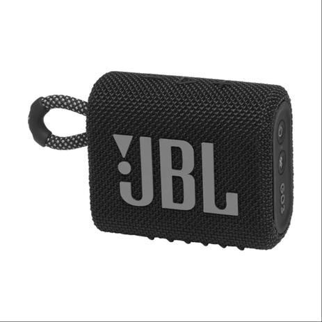 Caixa de som BT JBL GO3 IPX7 Black