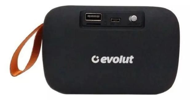 Caixa de Som EO650 Bluetooth Preto Evolut EO-650BK