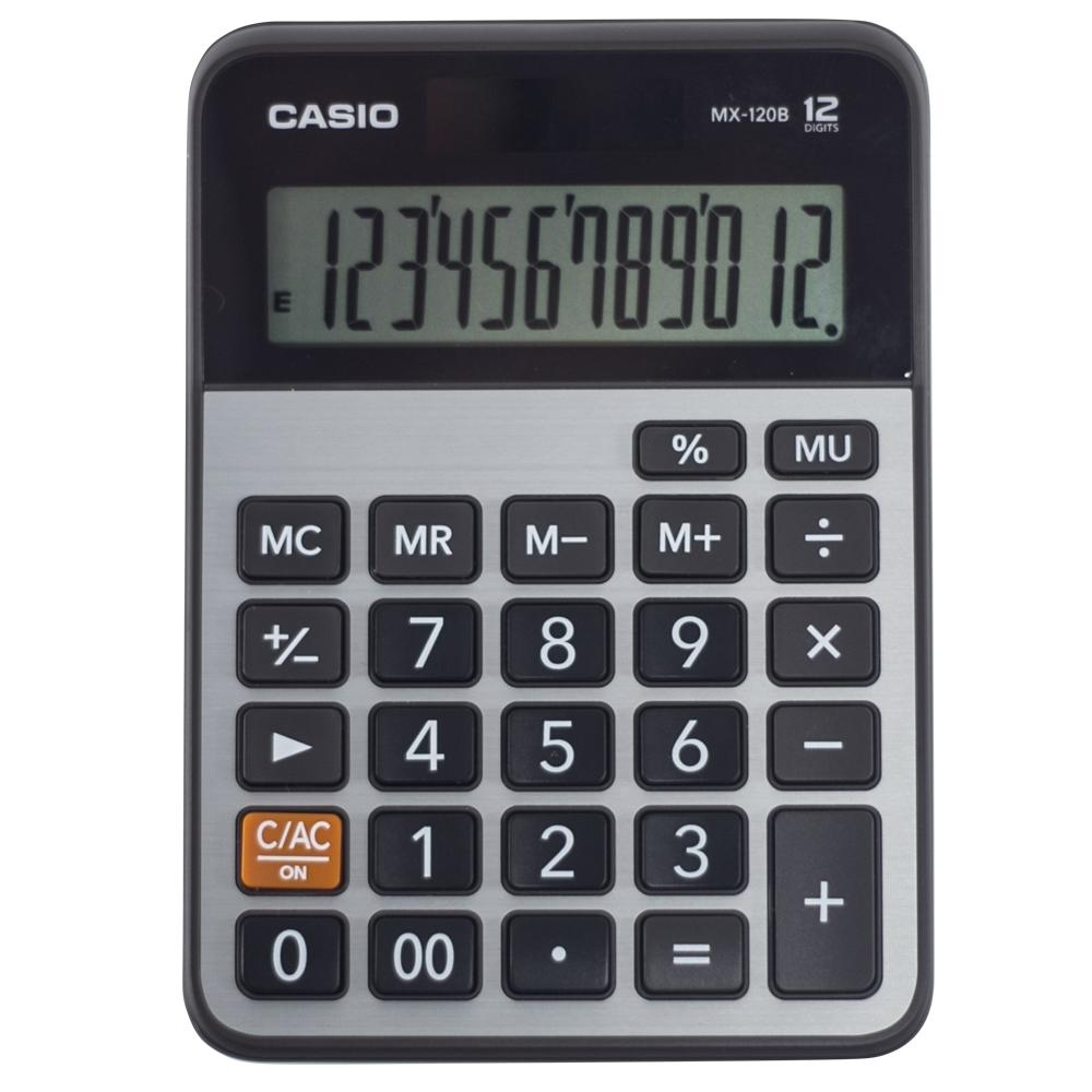 Calculadora de mesa Casio 12 dígitos  MX-120B