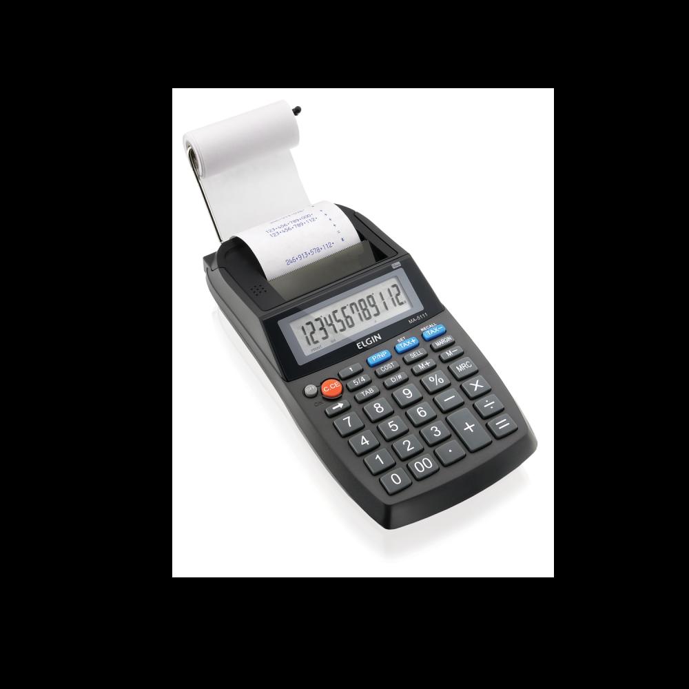Calculadora Eletrônica de Mesa Elgin MA 5111 12 Dígitos Visor LCD