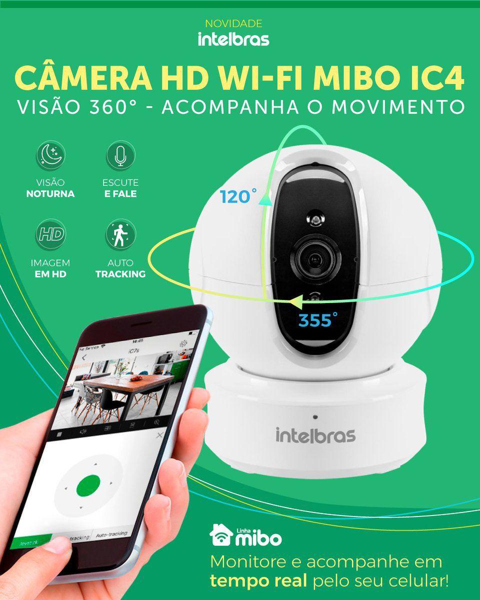 Câmera de segurança Intelbras Wi-Fi IC4