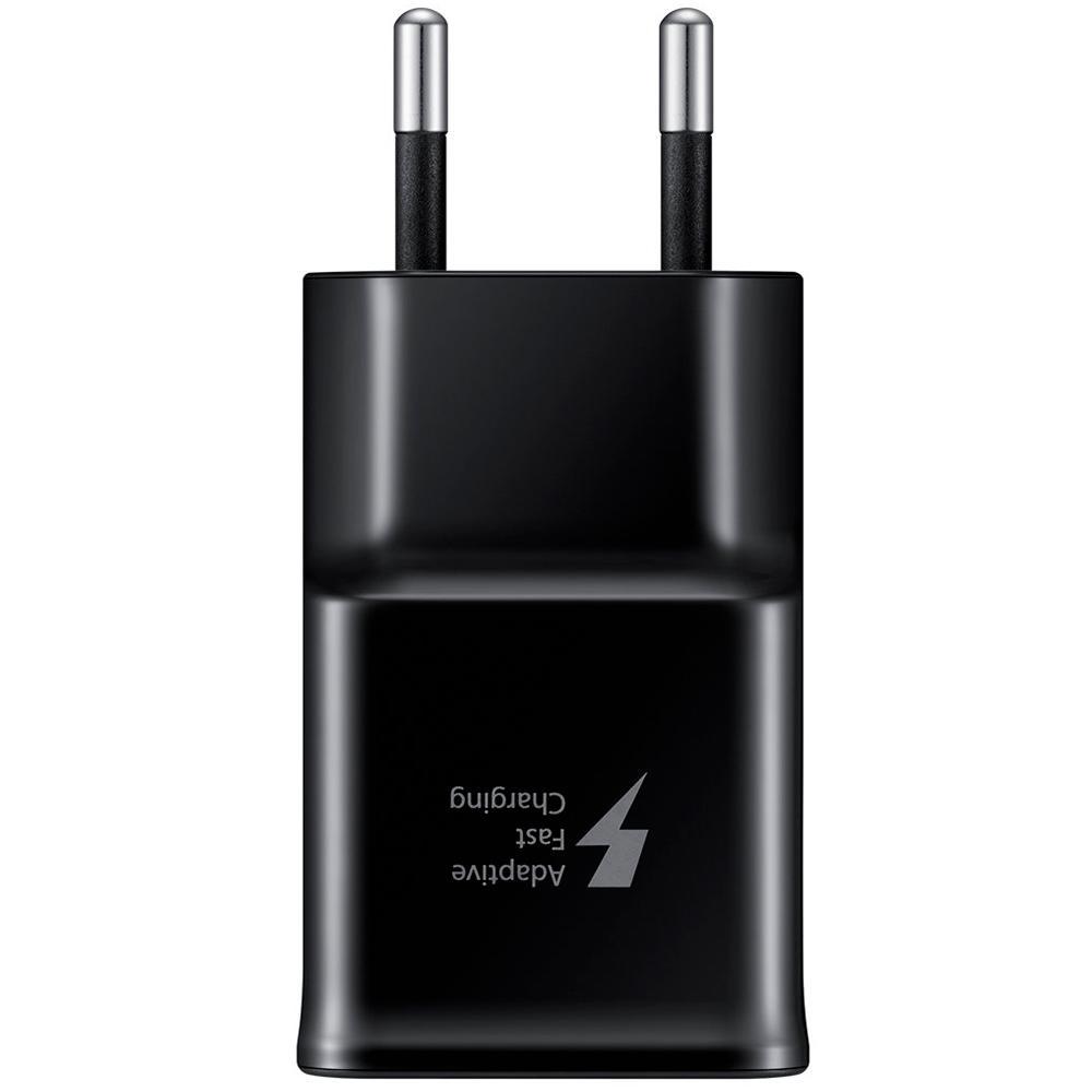 Carregador de Parede Fast Charge, Tipo C, Samsung, Preto - EP-TA20BBBCGBR