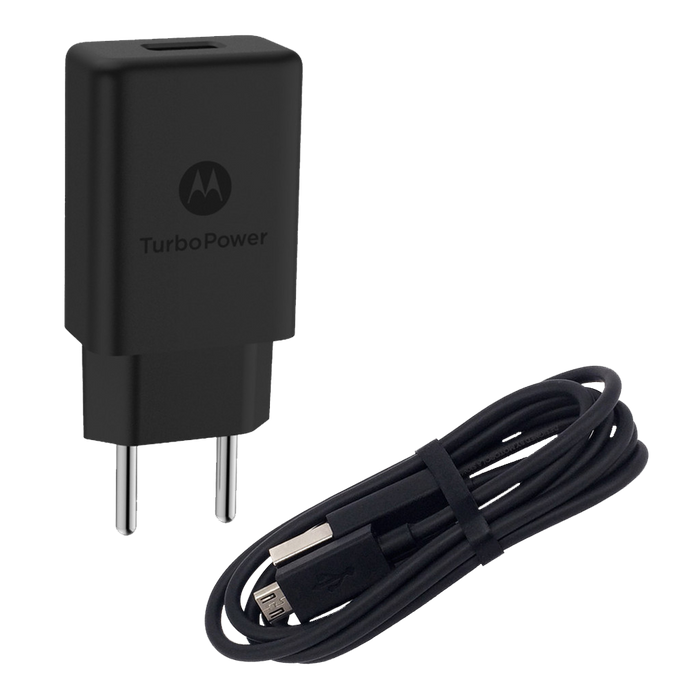 Carregador Motorola Turbo Power 18w Micro-Usb
