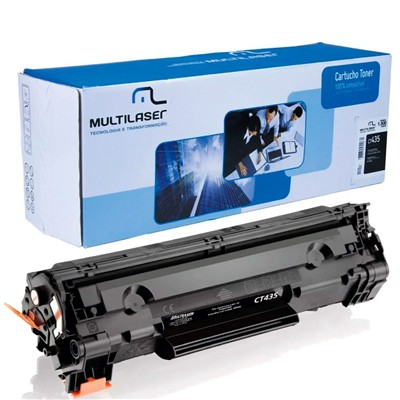 Cart. Toner Multilaser HP CB435A 35A