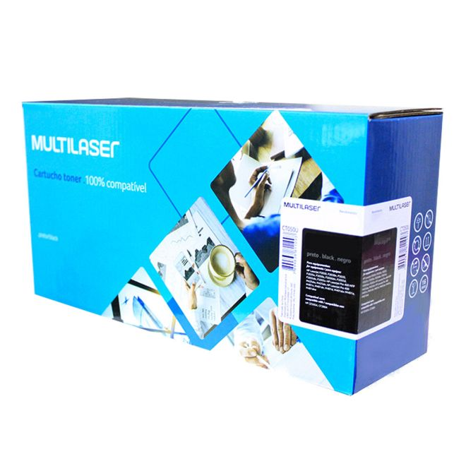 Cart. Toner Multilaser HP CE505 - CF280A