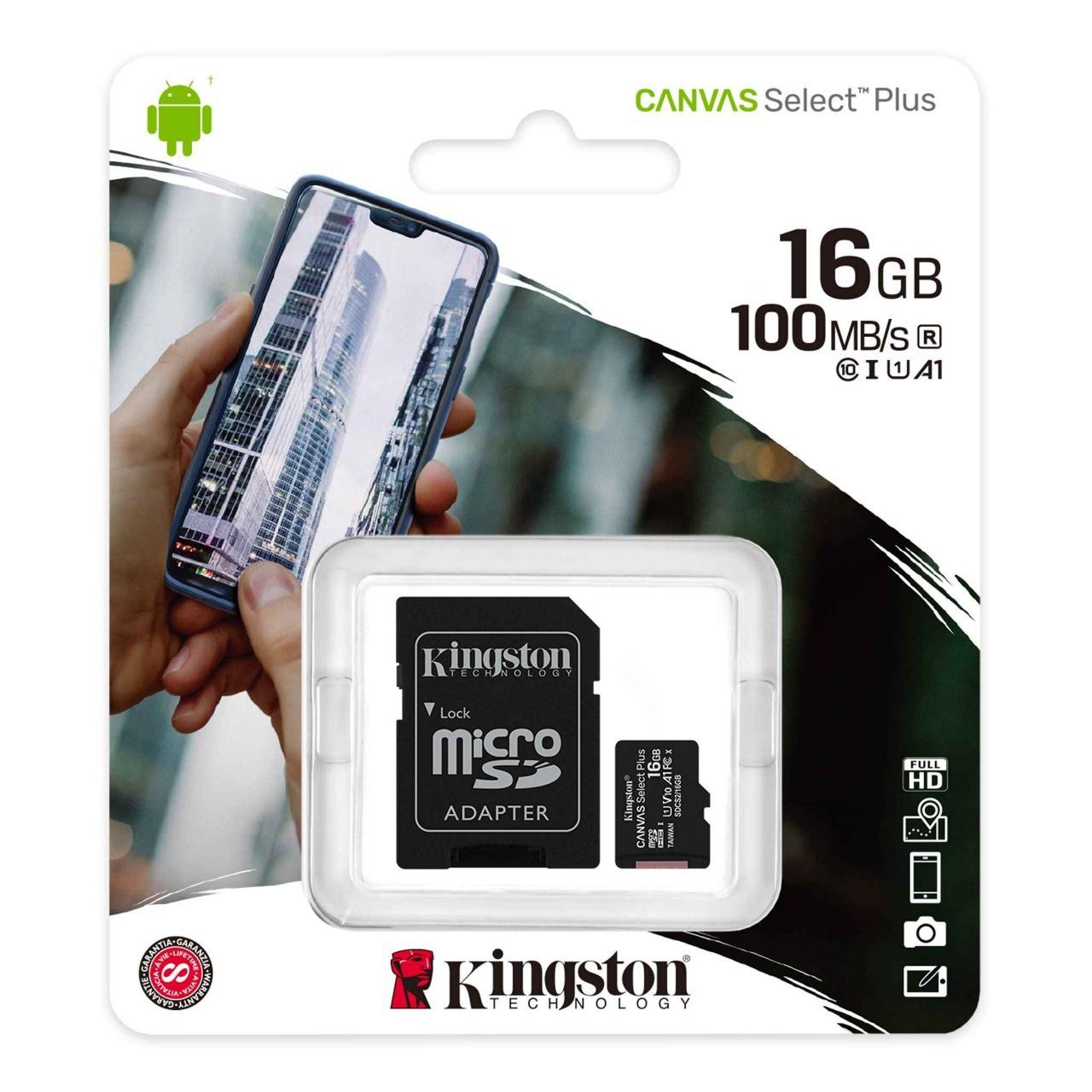 Cartão de Memória - Classe 10 SDCS2 - 16GB MicroSDH