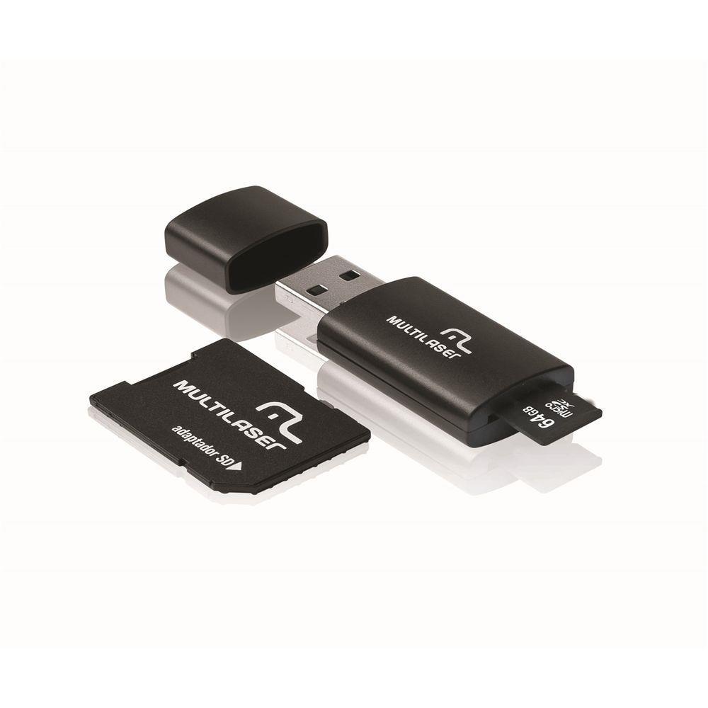 Cartão de Memória Multilaser 64Gb MC115