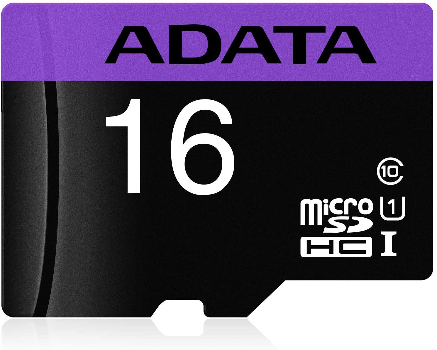 Cartão de Memória SD ADATA AUSDH16GUICL10-RA1