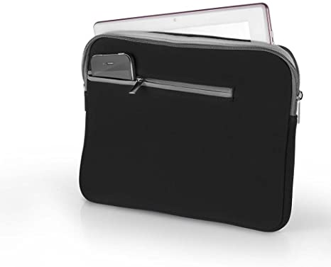 Case de Neoprene Para Notebook 15.6 - Pto E Cza Bo400