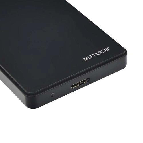 Case para HD Multilaser, USB 3.0, 2,5 Polegadas, SATA I, II e III