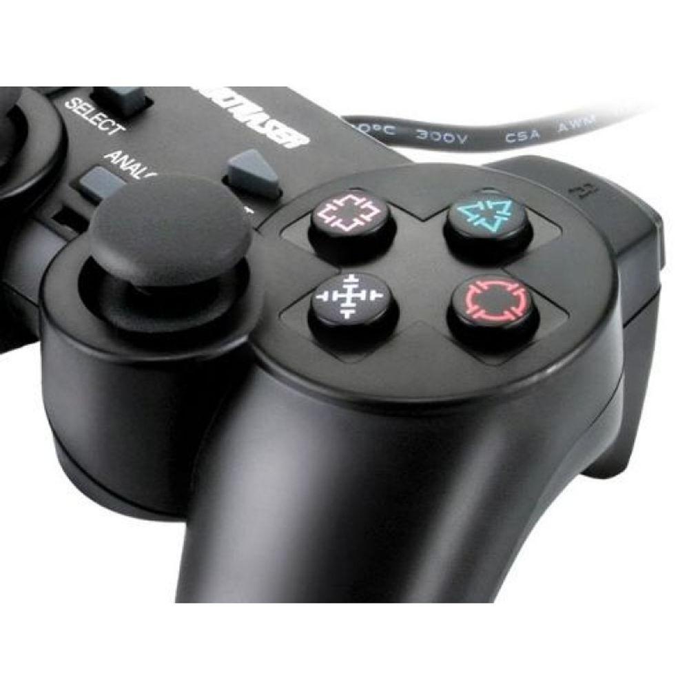 Controle Multilaser Dualshock Pc Preto - Js030