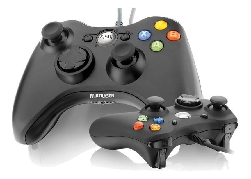 Controle para Xbox e PC Multilaser JS063