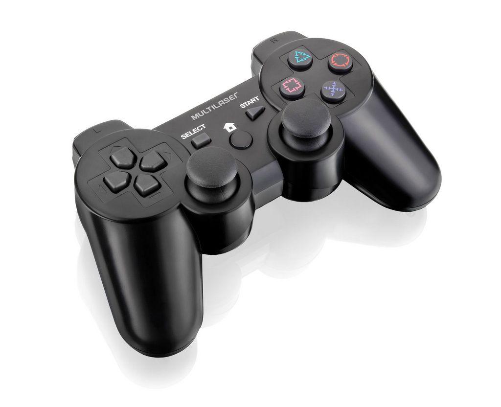 Controle Sem Fio Ps3|Ps2|Pc C| Bateria Js072