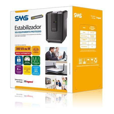 Estabilizador Revolution Speedy Usp300bi 115 New Sms