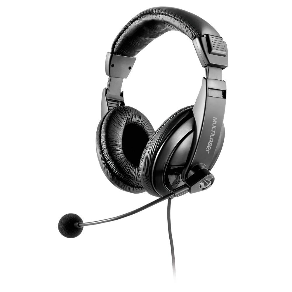 Fone com microfone Profissional Giant Multilaser PH245