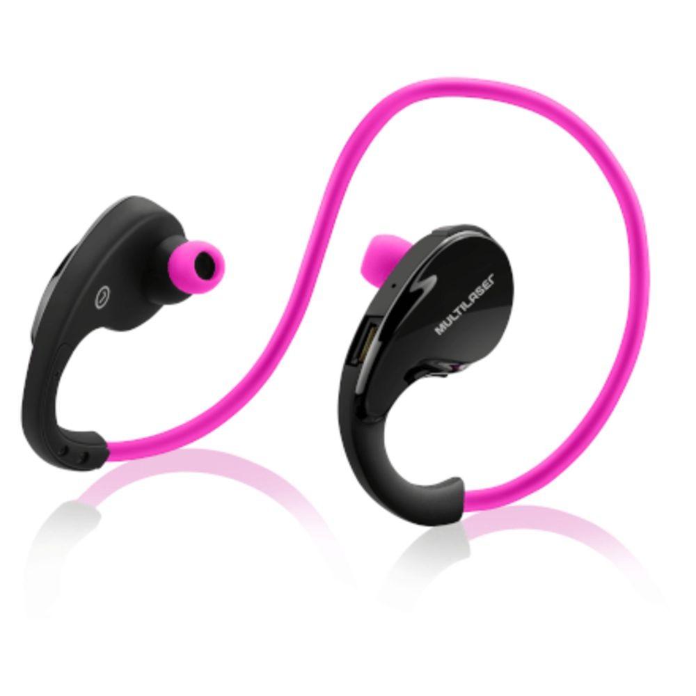 Fone De Ouvido Arco Sport Bluetooth Rosa Multilaser - Ph183