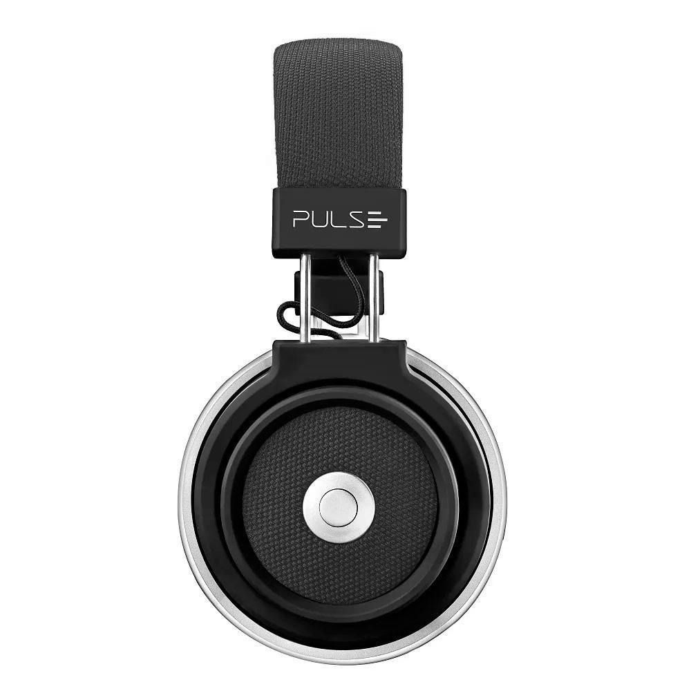 Fone De Ouvido Bluetooth Large Preto Pulse