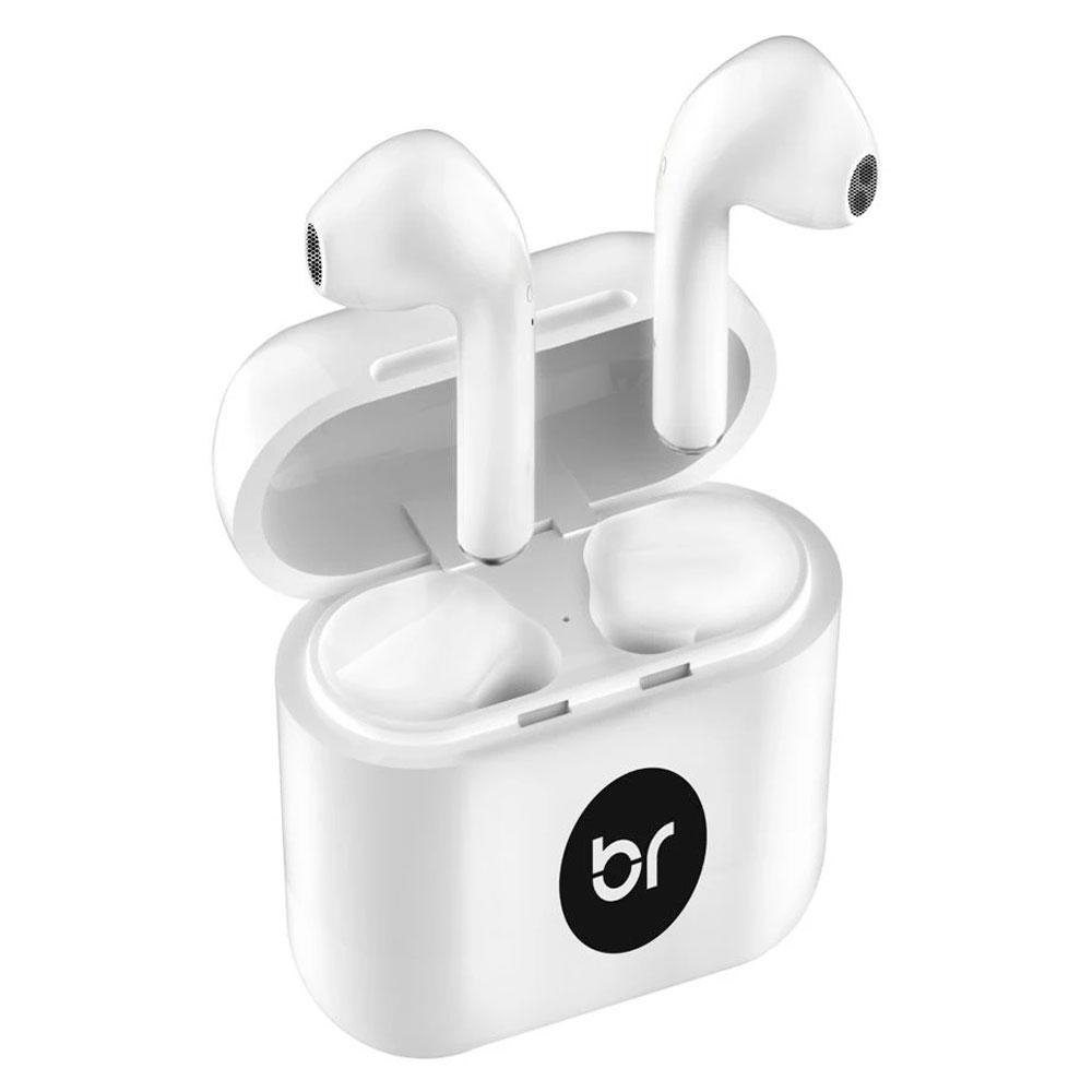 Fone de Ouvido Bright, Bluetooth, Branco - FN561