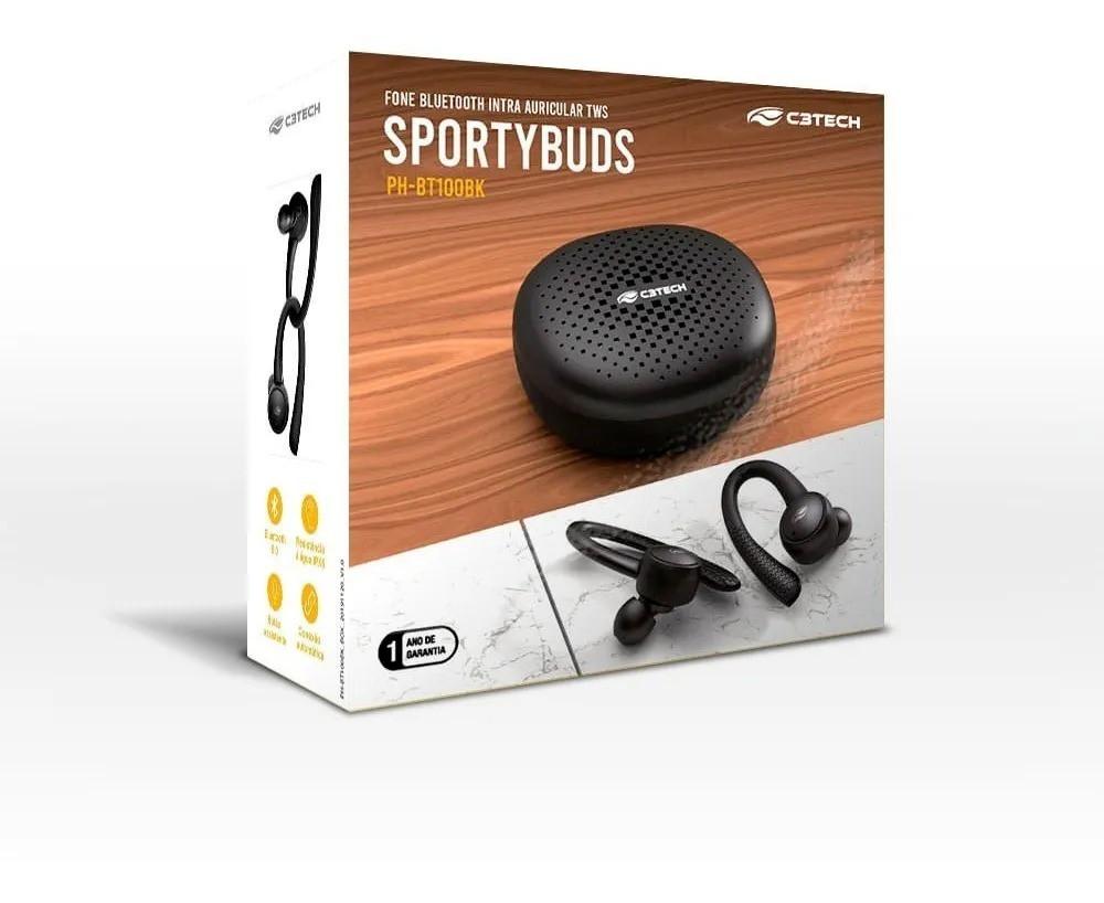 Fone de Ouvido EP-TWS-100BK SportyBuds BT 5 TWS C31