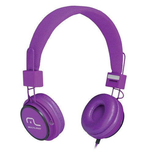 Fone De Ouvido Headphone Fun Roxo Multilaser Ph090