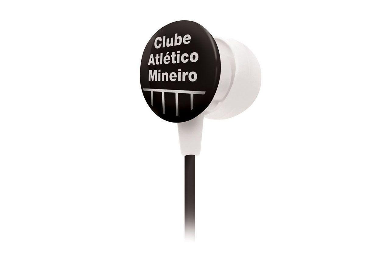 Fone de Ouvido Mini com Silicone SF-10 Atlético MG