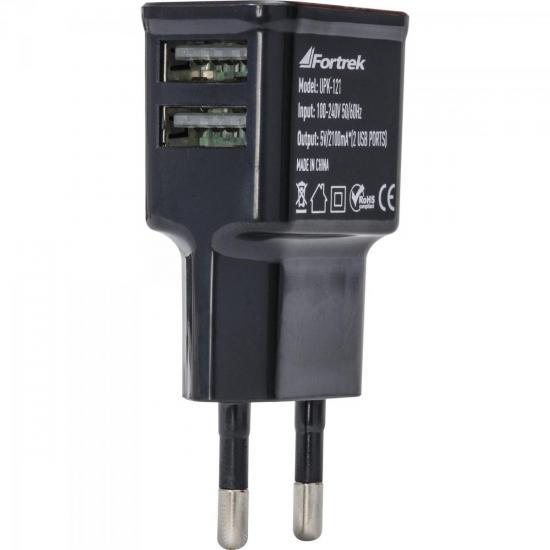 Fonte de energia Fortrek Duplo USB Bivolt