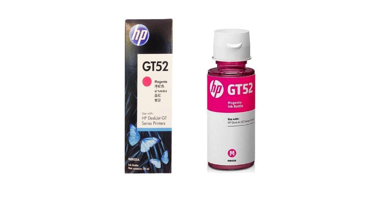 Garrafa De Tinta Hp M0h55al (Gt52) Magenta