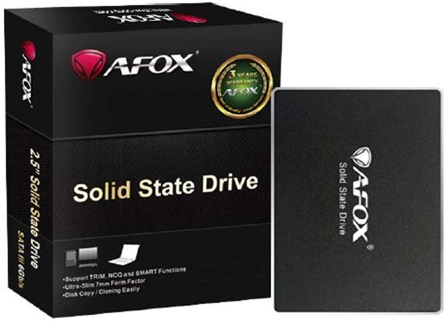 HD SSD 240GB Sata III 2,5'' Afox - SD250-240GQN