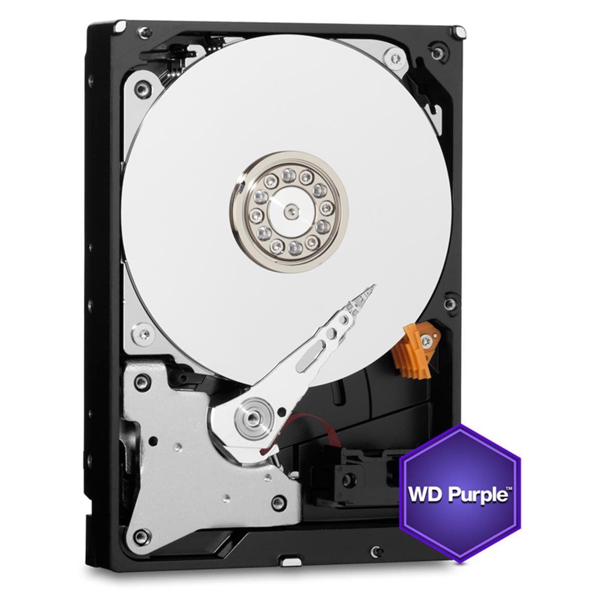 HD WD Purple 2TB para Segurança Vigilancia  DVR