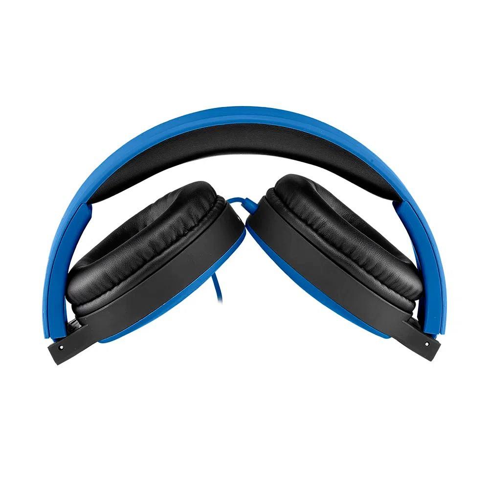 Headphone New Fun Wired Azul Ph272
