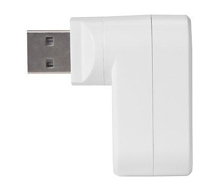 Hub Usb Bright 0335 3 Portas Branco