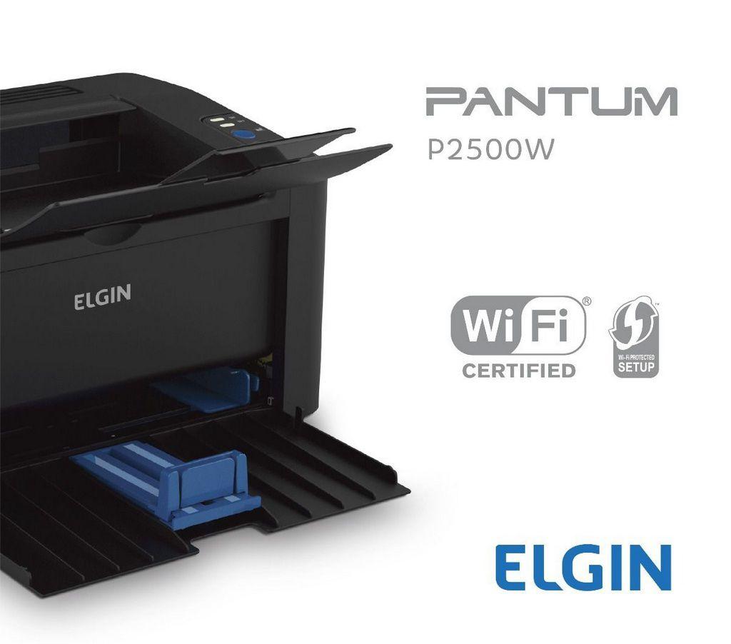 Impressora Elgin Laser Mono Pantum P2500w