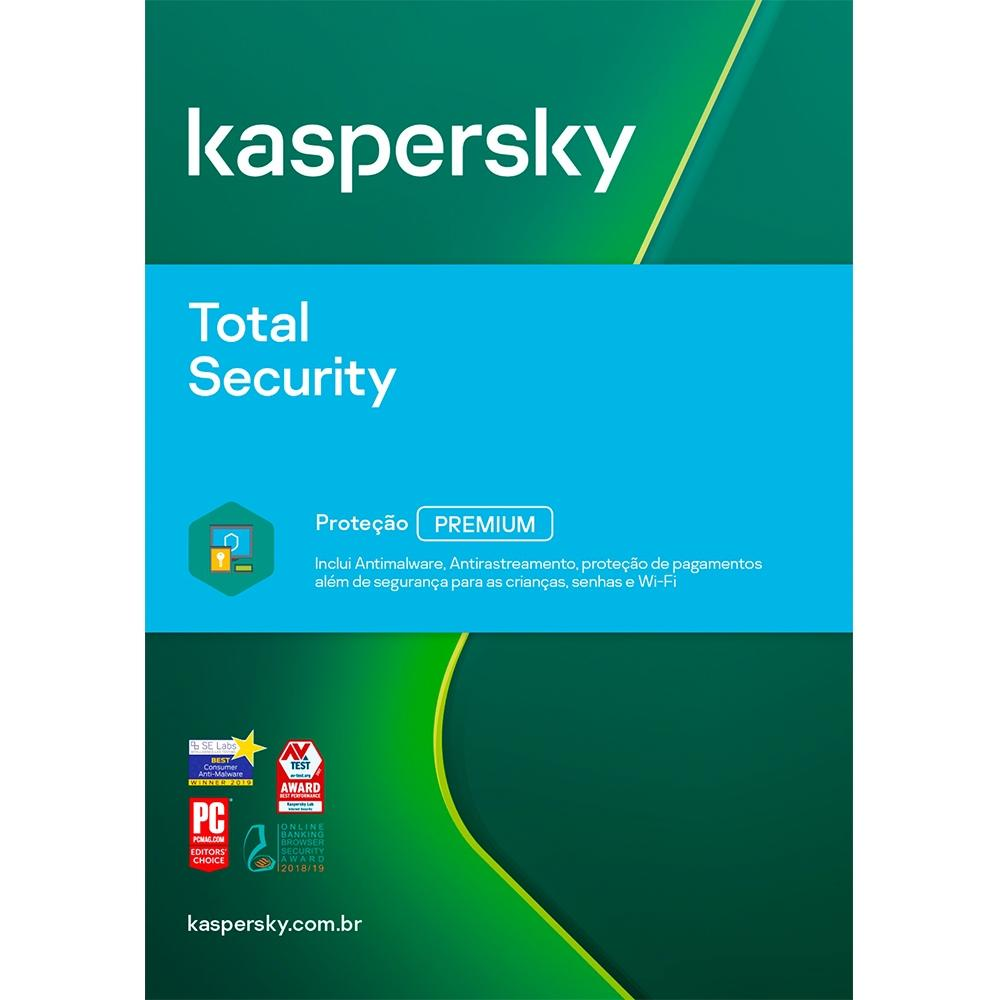 Kaspersky Total Security Multidispositivos - 5 Dispositivos 1 Ano