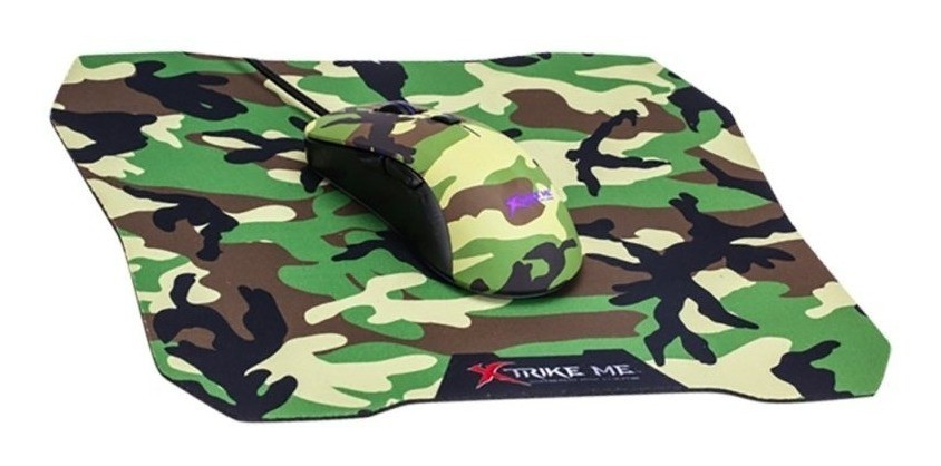 Kit Mouse E Mousepad Xtrike Me 287x244x3mm Gmp-505