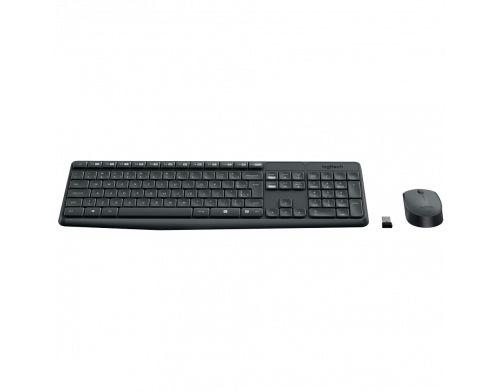 Kit Tecl+Mouse S Fio Mk235 Logitech