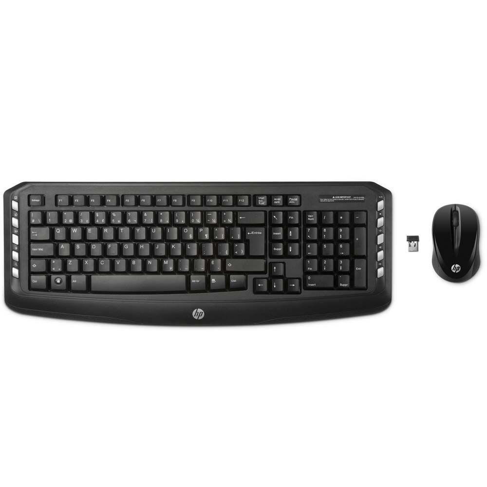 Kit Teclado E Mouse Hp Sem Fio Classic - Lv290aa#Ac4