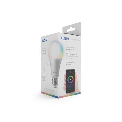 Lâmpada Bulbo LED A60 10W BIV Smart Elgin